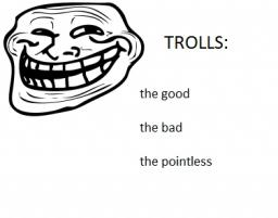Trolls: the good, the bad, and the pointless Minecraft
