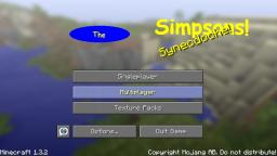The Simpsons Texture Pack! Minecraft Texture Pack