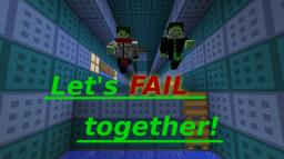 "Coop Jump'n'Run: ""Let's Fail together!"" Minecraft Map & Project"