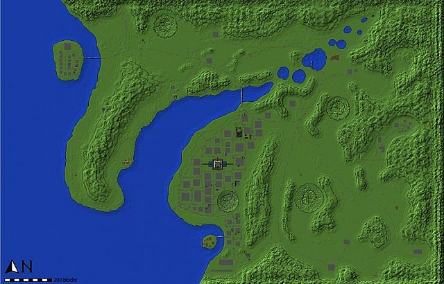Map Minecraft Project