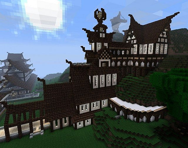 Ascended Temple ( Survival/Adventure build update ) (skyrim/asian