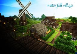 Waterfall Village - Cinematic + World Download - 5O Subscriber Special! Minecraft Map & Project
