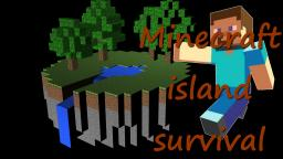 Minecraft island survival Minecraft Project