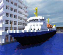M/S Gann Norwegian Ferry Minecraft