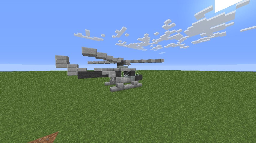 How To Craft A Helicopter In Minecraft