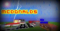 McDonalds/CFA/house/rap arena/black smith Minecraft Map & Project
