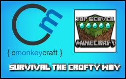 CmonkeyCraft: Survival the Crafty Way Minecraft Server