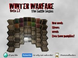 Winter Warfare beta 1.2 Minecraft Texture Pack
