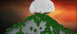 Island of eternal snow Minecraft Project