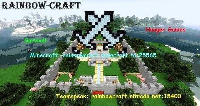 Rainbow-craft Minecraft Server