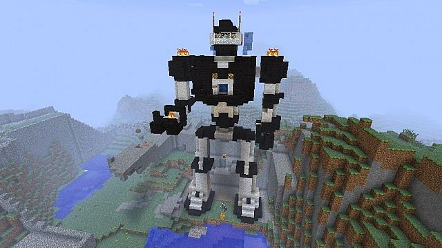 my First Robot Minecraft