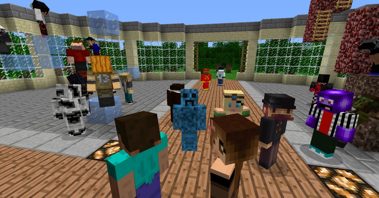 play with friend on minecraft