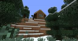 Manly Log Cabin Minecraft Map & Project