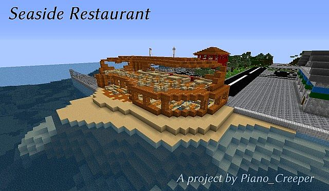 Seaside Restaurant Minecraft Project