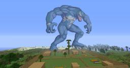 Venom, Wolverine, Broly, Albert Wesker, Edward Elric Minecraft Project