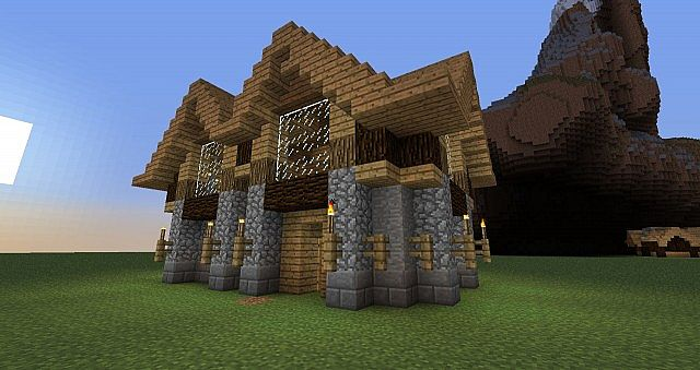 . Build a house in 5 steps  download  Minecraft Project