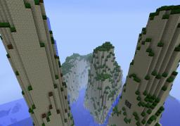 Mountains of Teovena (Terraform) Minecraft Map & Project