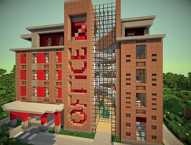 Z3s Modern Office Minecraft Project