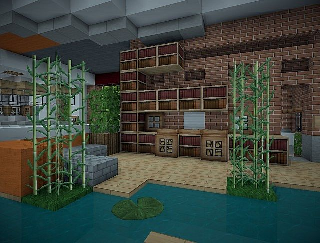Z3 S Modern Office Minecraft Project
