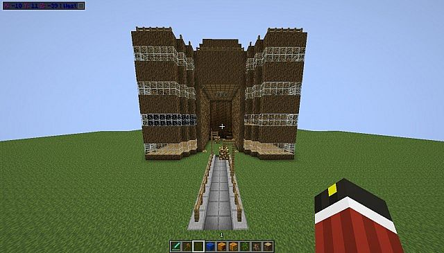 Simple Spawn Building Minecraft Project