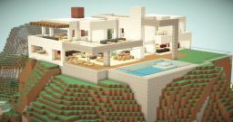 "Oraclia Modern House 11 "" Geodinum"" Minecraft Map & Project"
