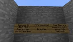 Get Out Of This Box Minecraft Map & Project