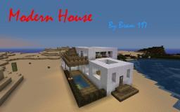 Modern House By Bram 117 Minecraft Map & Project