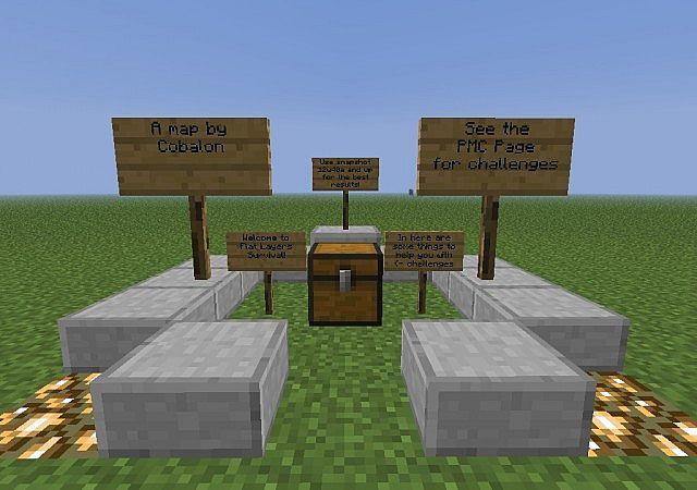 how to make a server use a flat minecraft world