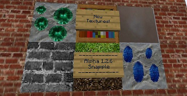 Minecraft 1.3.1 Snapple Pack