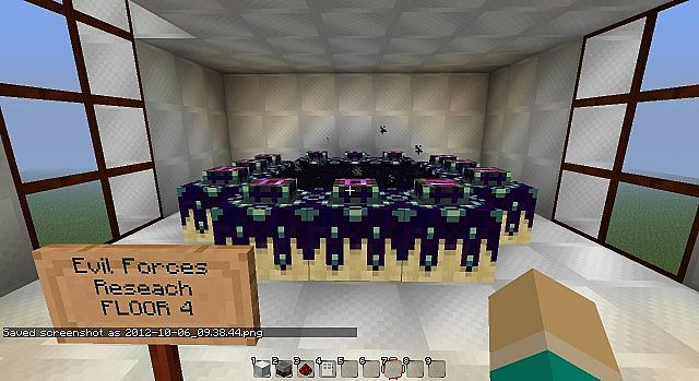 Minecraft Research Center Minecraft Project