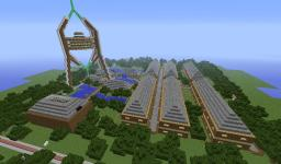 Ready to go spawn for YOUR server! Minecraft Map & Project