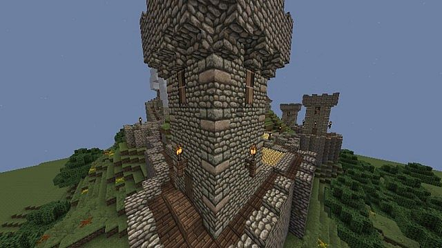 New design on towers (if you have any more suggestions regarding decoration etc., please let me know)