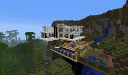 Modern Mountainside Villa Minecraft Map & Project