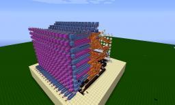 16Bit ALU V2 Minecraft Project