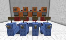 Small Modular Greater Than Circuit Minecraft Project