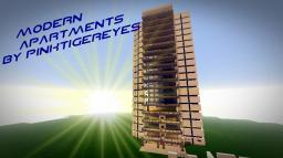 Modern Apartments-by Pinktigereyes Minecraft Map & Project