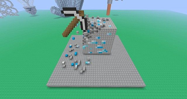 Diamond Block Minecraft Project