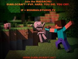 DiabloCraft - A PVP server that has what YOU are looking for! Minecraft Server