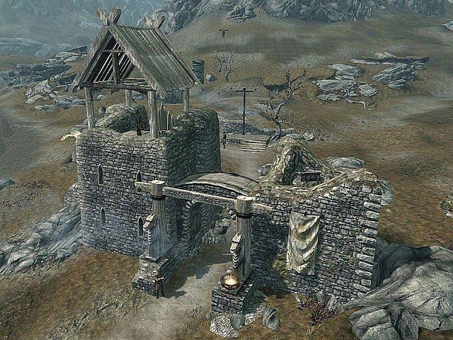 Skyrim Whitewatch Tower Minecraft Project