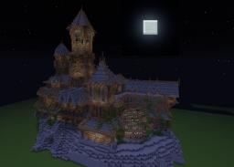 Beast_Maker Manor (Haunted Mansion) Minecraft Map & Project