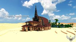 Desert Restaurant || + DOWNLOADLINK! Minecraft Map & Project