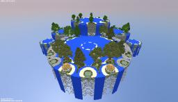 Fountain City (Floating Islands in the Void) Minecraft