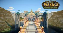 Stormwind / Hurlevent Minecraft Map & Project