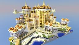 Star Island Fortress (WIP) Minecraft Map & Project