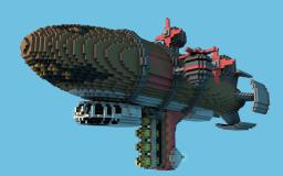 C&C Red Alert II : Kirov AirShip Minecraft Project