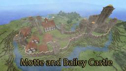 Motte and Bailey Castle *In Construction* Minecraft Project