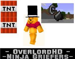 Ninja Griefers O_O Minecraft