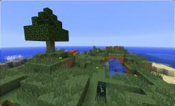 Creeper Island V1.5 - ( Over 800 Downloads!!!) Minecraft Project