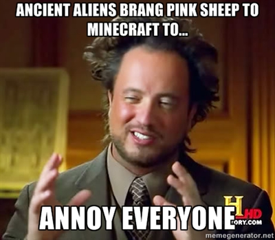 Pink Sheep Minecraft Blog