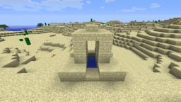 Strange sandstone well.... Minecraft Blog